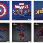 Marvel初のNFTであるスパイダーマンのデジタルフィギュアが登場!